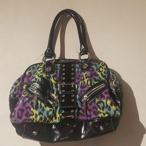 Betsey Johnson Retro Shoulder Bag Gently Used